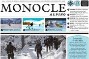 Monocle Alpino: winter newspaper from the men's title