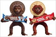 Jammie Dodgers: kicks off monkey campaign