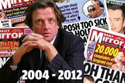 The rise and fall of Daily Mirror editor Richard Wallace
