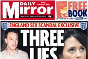 Daily Mirror: John Terry scandal