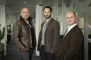 Leo Burnett/Airlock…(l-r) Mark Giusti, Will Lebens and Andrew Edwards