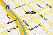 Google map navigation: uses phone internet connection