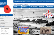 Commemorative D-Day website: launched by the Royal British Legion
