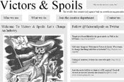 Victors & Spoils: crowdsourcing agency