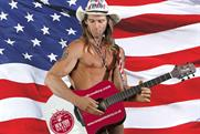 The Naked Cowboy: visits the UK today to promote NY Bakery Co