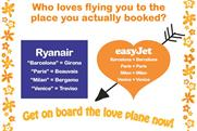 EasyJet: marketing attacks rival's destination airports