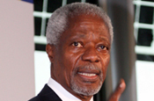 Kofi Annan...will speak at 2009 Cannes Lions