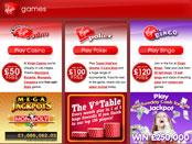 Virgin Games: needed to target specific groups