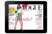 Vogue: iPad app version to go monthly from September