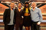 X Factor: attracted peak audience of 13 million-plus on Sunday