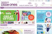 Sainsbury's: revamps Little Ones site
