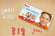 Kinder Chocolate: first UK TV ads break on 16 April