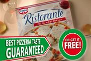 Dr Oetker: highest share of voice