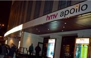 HMV sells off Hammersmith Apollo for £32m