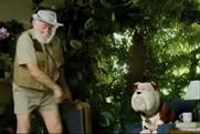 Churchill: latest ad co-stars botanist David Bellamy