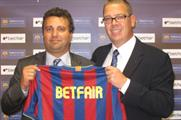 Betfair agrees sponsorship deal with FC Barcelona