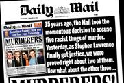 Mail Newspapers: restructures its agency sales print division