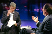Killer question: Newsnight's Paxman