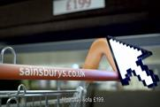 Sainsbury's backs e-commerce site with first campaign