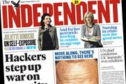 The Independent: headline circulation hits 100,672