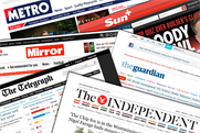 Newspaper ABCs: how titles' websites performed in April