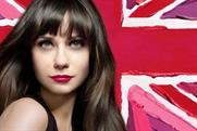 Zooey Deschanel: models for March 2011 Rimmel TV ad