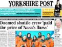 Yorkshire Post: Johnson Press paper
