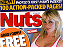 Nuts: expected to beat rival Zoo by 90,000 copies