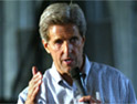 Kerry: accuses Bush of supporting veterans group