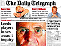 Telegraph: new manager for website