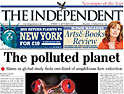 The Independent: circulation up 20%