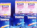 Tampax: site will back femcare brands