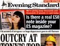 Evening Standard: first edition may be free