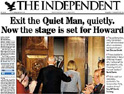 The Independent: tabloid only on Saturdays
