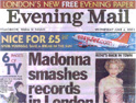 Evening Mail: landed Express Newspapers in court
