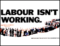 'Labour isn't working': Tories criticise new Labour campaign