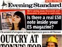 Evening Standard: jobs section rebrand