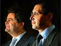 Rebbouh (l) and Kemoun: WPP backing venture