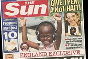 The Sun: promotes Haiti charity single
