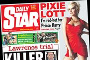 Daily Star: Saturday edition cover price to rise to 60p