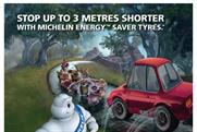 Michelin: TV campaign focuses on safety and fuel efficiency