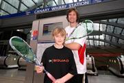 Dunlop: sponsors England Squash & Racketball