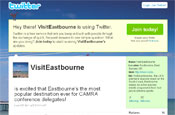 VisitEastbourne: now on Twitter and Facebook