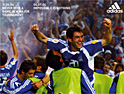 Adidas: celebrating the Greek victory