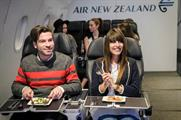 Behind the scenes: Air New Zealand's inflight pop-up