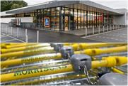 Aldi and Morrisons: the German supermarket has knocked the UK retailer out of the 'big four'