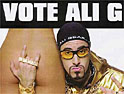 Ali G movie poster lands UIP in hot water