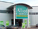 Allied Carpets: AMS Media wins £3.5m task