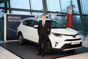 Andrew Cullis: has joined Toyota GB as marketing director