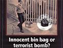 Police: anti-terror ads ran in 2002